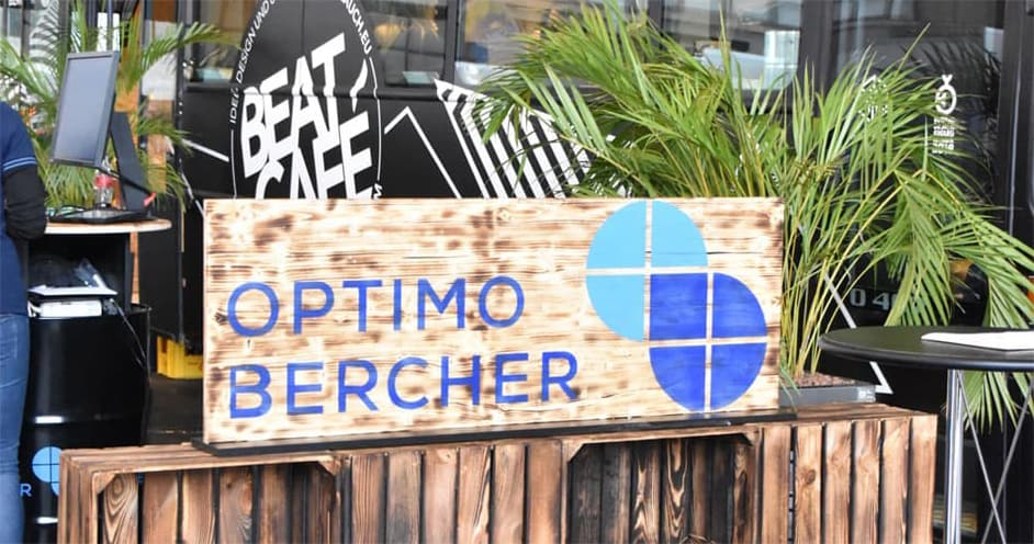 OptimoBercher's innovativer Stand auf der FAMEBA 2018